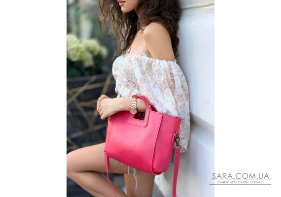 Женская сумка Gloria XS (Глория) маленькая с косметичкой гладкая Astory Designer Bags