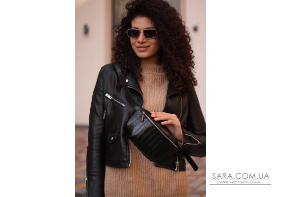 Женская сумка Бананка (кроко) Astory Designer Bags