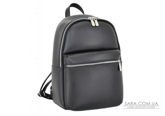 691 рюкзак чорний г Lucherino