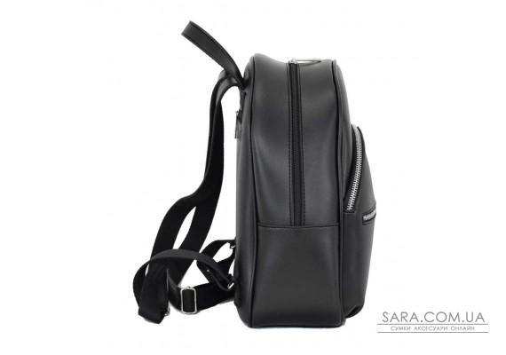 692 рюкзак чорний Lucherino