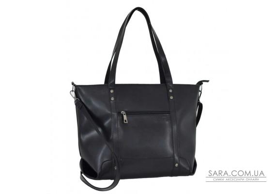 693 сумка екошкіра чорна Lucherino