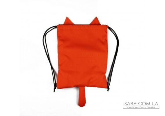 Детский рюкзак-мешок Кот Эйнштейна с ошейником. MAD