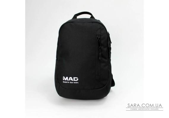 Flip - чорний тканинний рюкзак MAD