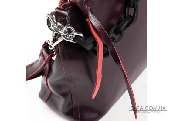 Сумка Жіноча Класична шкіра ALEX RAI 03-09 17-8900 wine-red