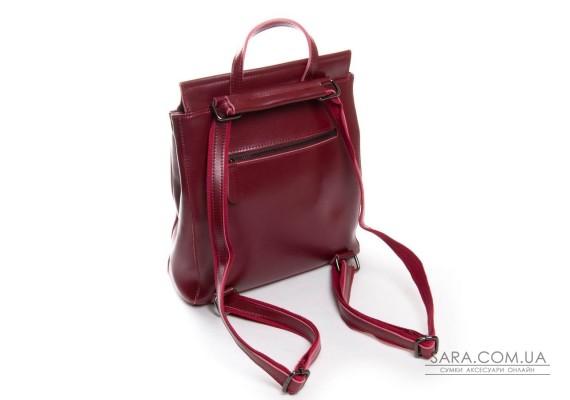 Сумка Жіноча Рюкзак шкіра ALEX RAI 3206 l-red