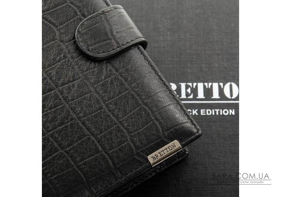 Гаманець Crocodile шкіра BRETTON M5406 black