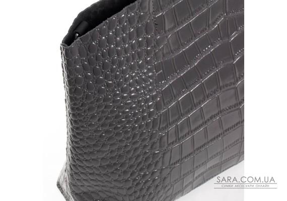Сумка Жіноча Класична шкіра ALEX RAI 03-09 13-9506 grey