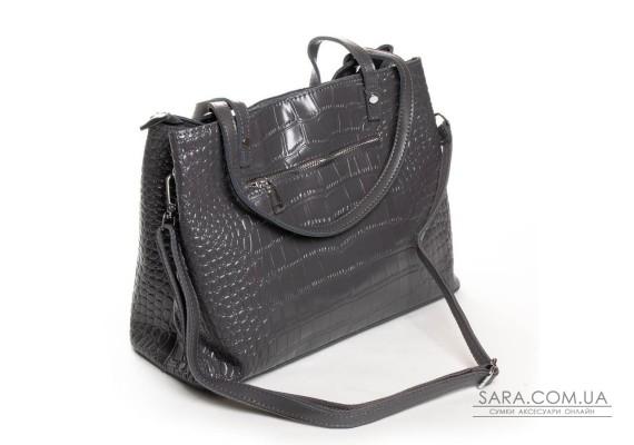 Сумка Жіноча Класична шкіра ALEX RAI 03-09 16-3204 grey