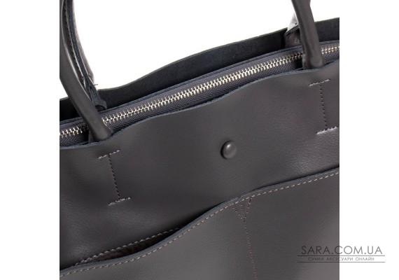 Сумка Жіноча Класична шкіра ALEX RAI 03-09 13-9505 grey