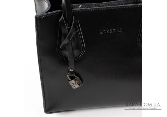 Сумка Жіноча Класична шкіра ALEX RAI 03-09 19-P1527 black