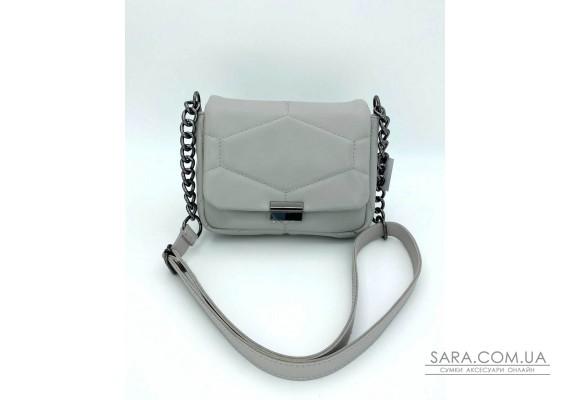 Женская сумка «Санди» серая WeLassie