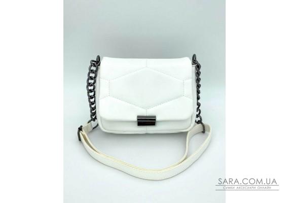 Женская сумка «Санди» белая WeLassie