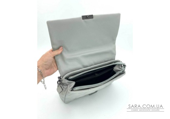 Женская сумка «Обри» серая WeLassie