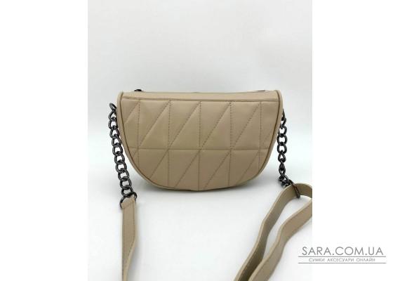 Женская сумка «Лайзи» бежевая WeLassie
