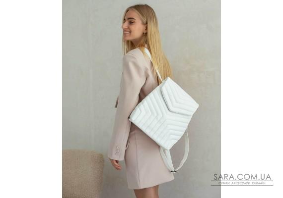 Сумка-рюкзак «Луки» білий WeLassie