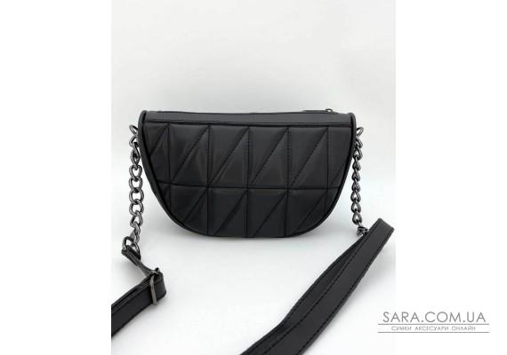 Женская сумка «Лайзи» черная WeLassie
