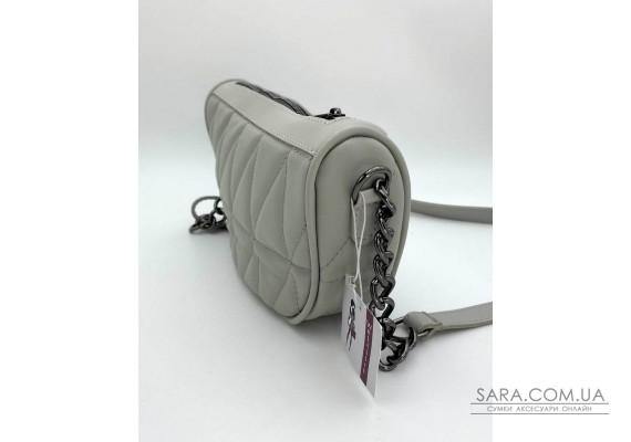Женская сумка «Лайзи» серая WeLassie
