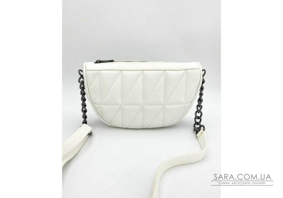 Женская сумка «Лайзи» белая WeLassie