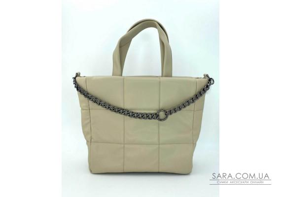 Жіноча сумка «Дейна» бежева WeLassie