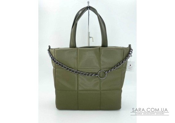 Жіноча сумка «Дейна» оливкова WeLassie