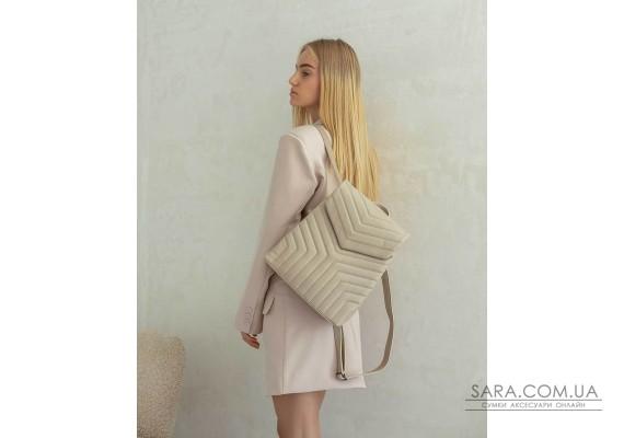 Сумка-рюкзак «Луки» бежевий WeLassie
