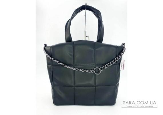 Жіноча сумка «Дейна» чорна WeLassie