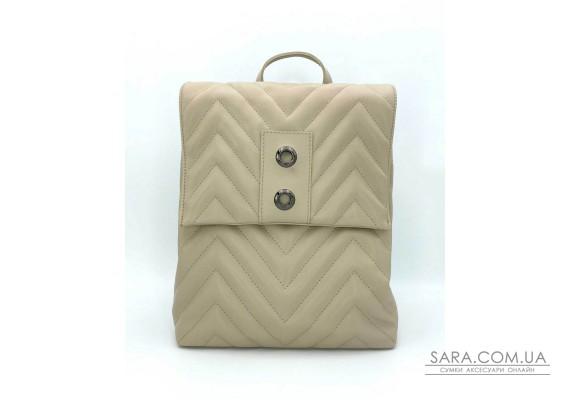 Сумка-рюкзак «Харпер» бежевий WeLassie