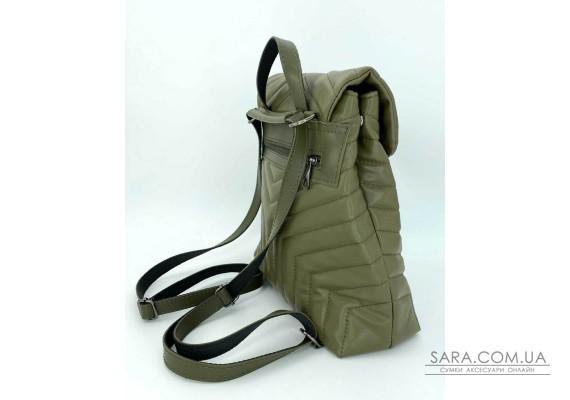 Сумка-рюкзак «Луки» оливковий WeLassie