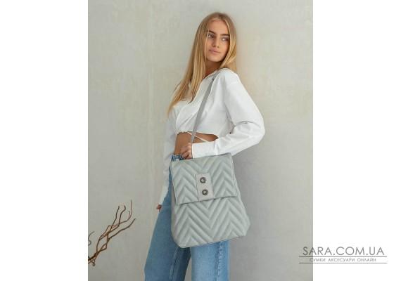 Сумка-рюкзак «Харпер» сірий WeLassie