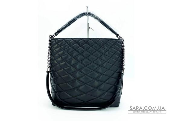 Женская сумка «Эрмин» черная WeLassie