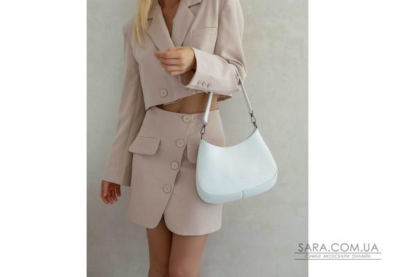 Женская сумка «Флэр» белая WeLassie