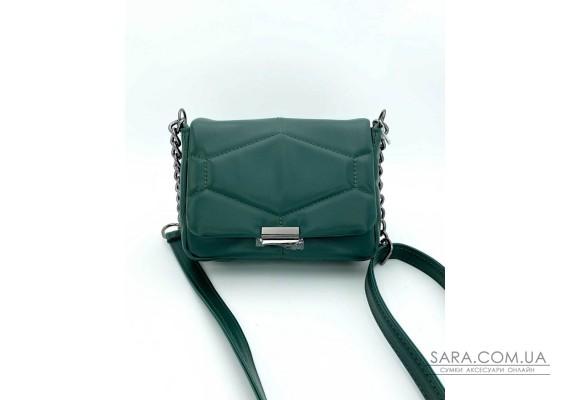 Женская сумка «Санди» зеленая WeLassie