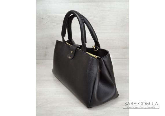 "Молодіжна сумка ""Альба"" чорного кольору WeLassie"
