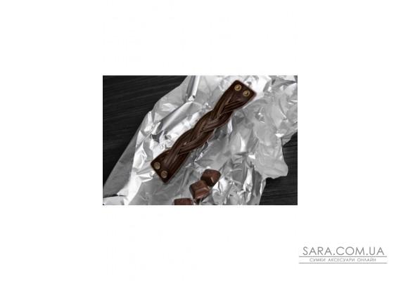 """Браслет """"Косичка"""" Шоколад BlankNote"""