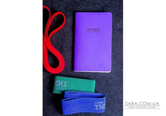 WELLNESS FOR HAPPINESS щоденник для контролю і планування режиму дня і харчування BlankNote