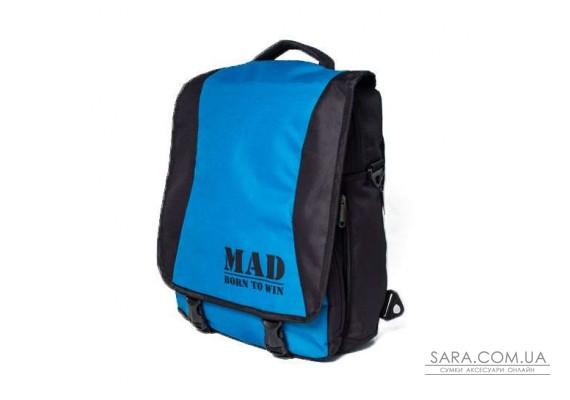 Сумка-рюкзак PACE (бірюза) MAD