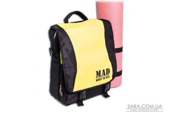 Сумка-рюкзак PACE (жовтий.) MAD