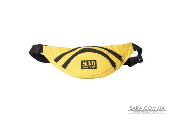 Поясна сумка Lite Life (жовтий) MAD