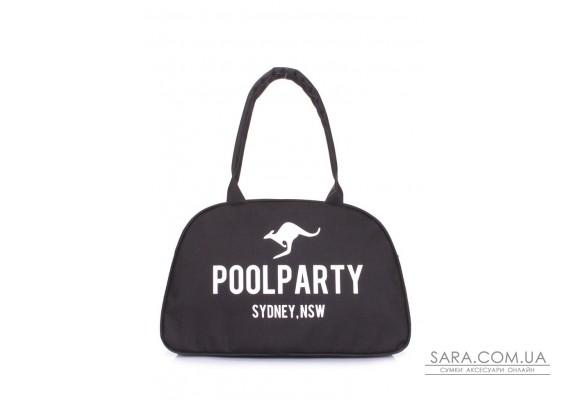 Міська сумка-саквояж POOLPARTY (pool-pool-16-oxford-black)