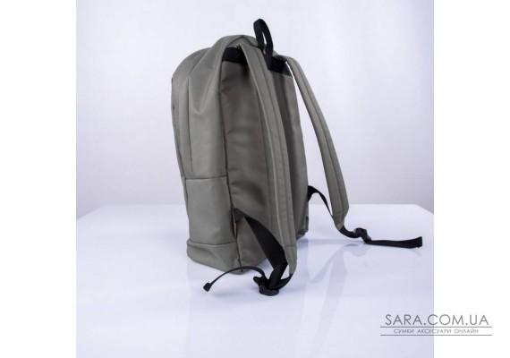 Чорний шкіряний (еко) великий рюкзак TwinsStore