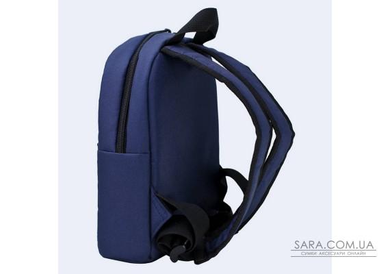 Дитячий синій рюкзак з лисичками TwinsStore