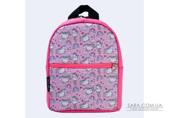 Дитячий рожевий рюкзак з єдинорогом TwinsStore