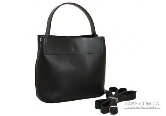 516 сумка чорна Lucherino