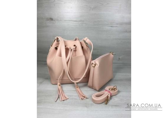 Молодіжна сумка з еко-шкіри Люверс мерехтливої кольору WeLassie