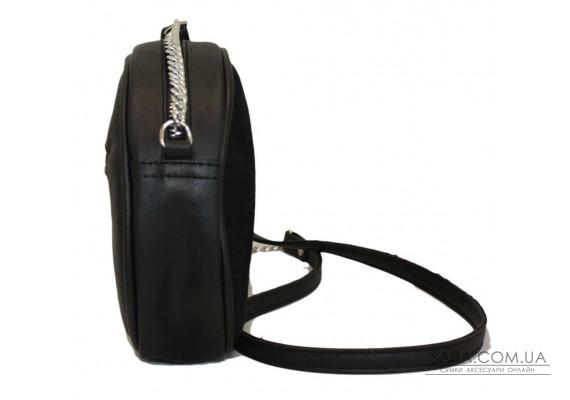 527 сумка замш черный Lucherino