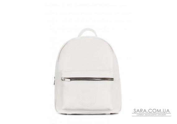 Рюкзак жіночий шкіряний POOLPARTY Xs (pool-xs-bckpck-leather-white)