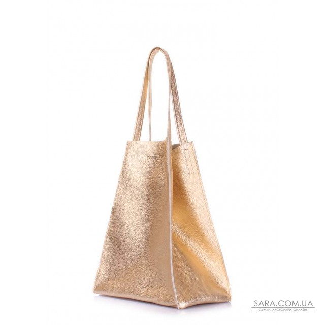 Кожаная сумка Edge Gold дешево