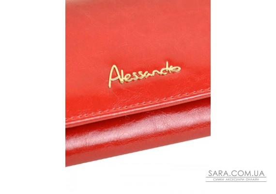 Гаманець Canarie шкіра ALESSANDRO PAOLI W1-V red Podium
