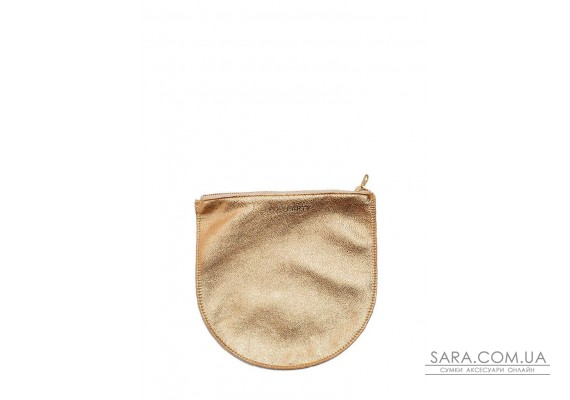 Шкіряна сумочка-клатч POOLPARTY (pool-cosmetic-pp1-gold)