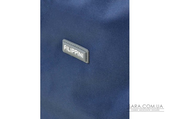 Дорожня Сумка на колесах нейлон FILIPPINI 2/1 601 blue Podium
